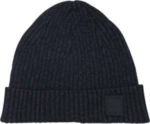 Czarna czapka BOSS Casual