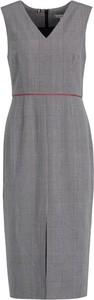 Sukienka Tommy Hilfiger bez rękawów z dekoltem w kształcie litery v