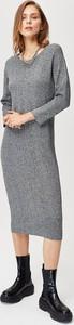 Sukienka FEMESTAGE Eva Minge z długim rękawem maxi
