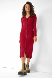 Sukienka ORSAY ołówkowa z dekoltem w kształcie litery v