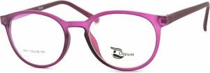Różowe okulary damskie Stylion
