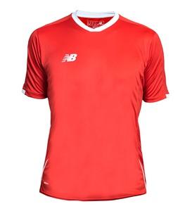 Czerwona koszulka New Balance