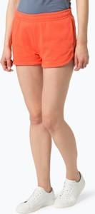 Pomarańczowe szorty Lacoste
