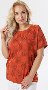 Bluzka born2be z krótkim rękawem z okrągłym dekoltem w stylu casual