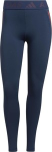 Niebieskie legginsy Adidas w sportowym stylu