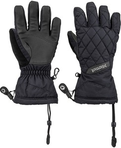 Czarne rękawiczki Marmot