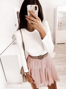 Bluzka Pakuten w stylu casual z długim rękawem