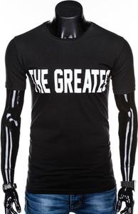 Czarny t-shirt Edoti