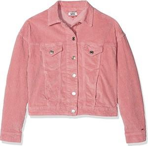 Różowa kurtka tommy jeans