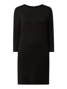 Czarna sukienka Vero Moda z okrągłym dekoltem w stylu casual mini