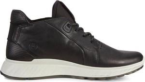 Buty sportowe Ecco ze skóry sznurowane