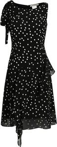 Czarna sukienka Pennyblack trapezowa mini