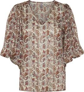 Bluzka Culture z dekoltem w kształcie litery v