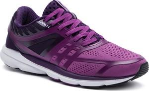 Fioletowe buty sportowe Li-Ning z płaską podeszwą w sportowym stylu