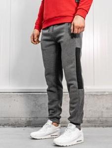Spodnie sportowe Denley z bawełny w stylu casual
