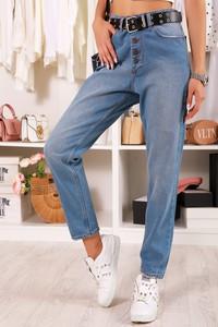 Niebieskie jeansy IVET w stylu casual