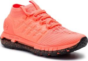 Czerwone buty sportowe Under Armour sznurowane