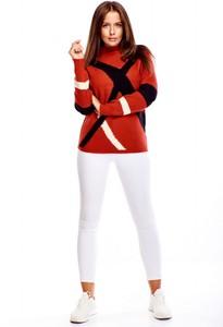 Sweter Oh my goodness z tkaniny w stylu casual