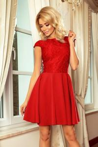 Sukienka NUMOCO z krótkim rękawem mini