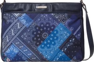 Niebieska torebka Desigual mała