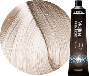 L'Oreal Paris Loreal Majirel Cool Cover | Trwała farba do włosów o chłodnych odcieniach - kolor 10.1 bardzo bardzo jasny blond popielaty 50ml - Wysyłka w 24H!