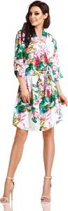 Sukienka Lemoniade z długim rękawem z dekoltem w kształcie litery v