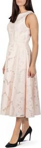 Różowa sukienka Ted Baker