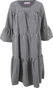 Sukienka bonprix bpc bonprix collection z długim rękawem