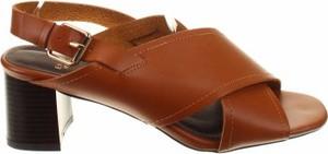 Brązowe sandały Evans