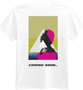 T-shirt MAJORS z okrągłym dekoltem z krótkim rękawem