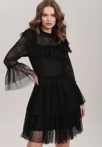 Czarna sukienka Renee z tiulu