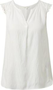 Bluzka Tom Tailor z dekoltem w kształcie litery v