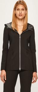 Czarna kurtka Patrizia Pepe z wełny w stylu casual krótka