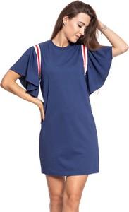 Sukienka Lee mini z krótkim rękawem