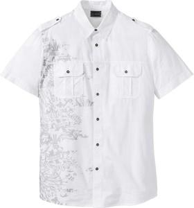 Koszula bonprix RAINBOW z krótkim rękawem z klasycznym kołnierzykiem