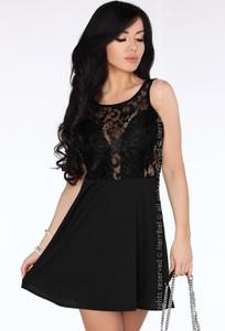 Sukienka MERRIBEL mini z okrągłym dekoltem
