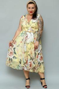 Sukienka KARKO rozkloszowana