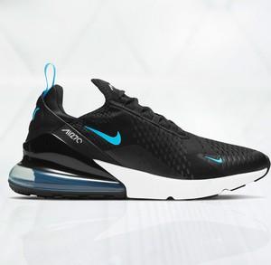 Czarne buty sportowe Nike air max 270 sznurowane