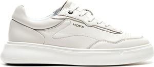 Buty sportowe Hoff sznurowane ze skóry