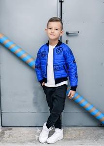 Niebieska kurtka dziecięca Kids By Voga