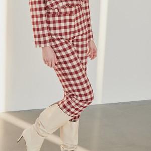 Czerwone spodnie Reserved w stylu klasycznym