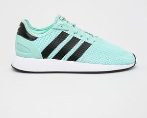 Miętowe buty sportowe Adidas Originals
