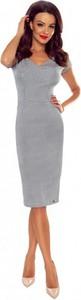 Sukienka Bergamo midi ołówkowa
