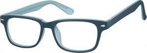 Stylion Okulary Zerówki klasyczne oprawki Sunoptic CP156C niebieskie