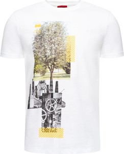 T-shirt Hugo Boss z nadrukiem