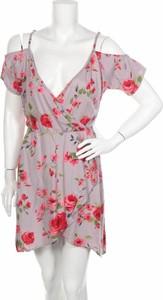 Sukienka Angie z krótkim rękawem