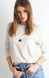 Bluzka Sheandher.pl z bawełny z długim rękawem w stylu casual