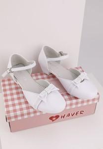 Balerinki Yourshoes ze skóry