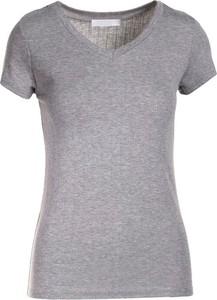 T-shirt Multu z okrągłym dekoltem z krótkim rękawem w stylu casual