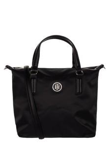 Czarna torebka Tommy Hilfiger duża w wakacyjnym stylu